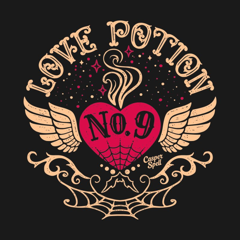 Love Potion No. 9 Home Fine Art Print by Casper Spell's Shop