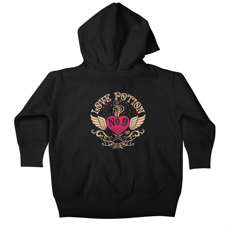 Love Potion No. 9 Kids Baby Zip-Up Hoody by Casper Spell's Shop