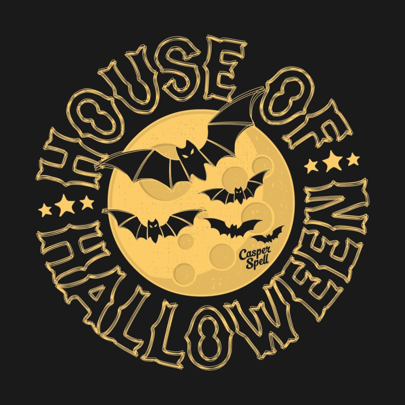 House of Halloween Home Blanket by Casper Spell's Shop