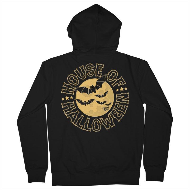 House of Halloween Men's Zip-Up Hoody by Casper Spell's Shop