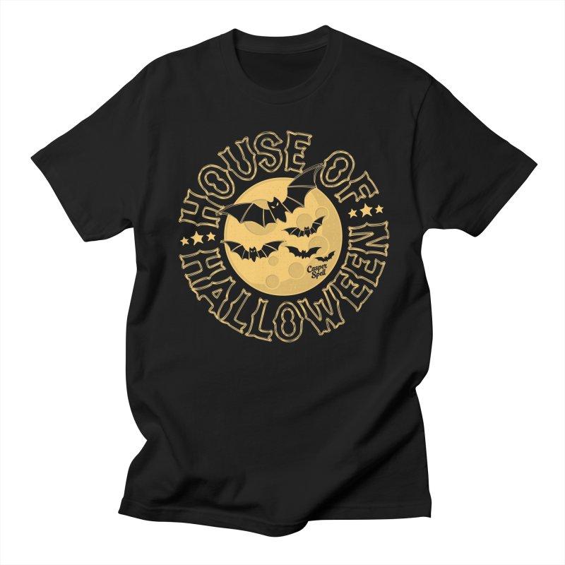 House of Halloween Men's T-Shirt by Casper Spell's Shop