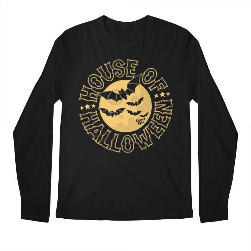 House of Halloween Men's Longsleeve T-Shirt by Casper Spell's Shop