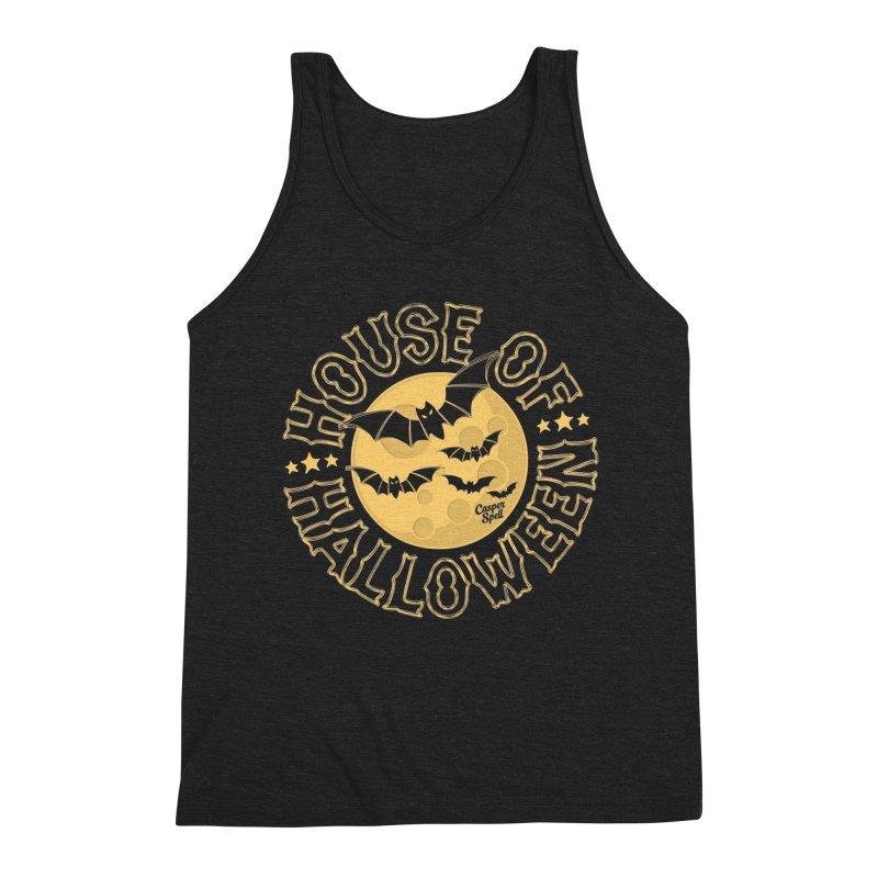 House of Halloween Men's Tank by Casper Spell's Shop