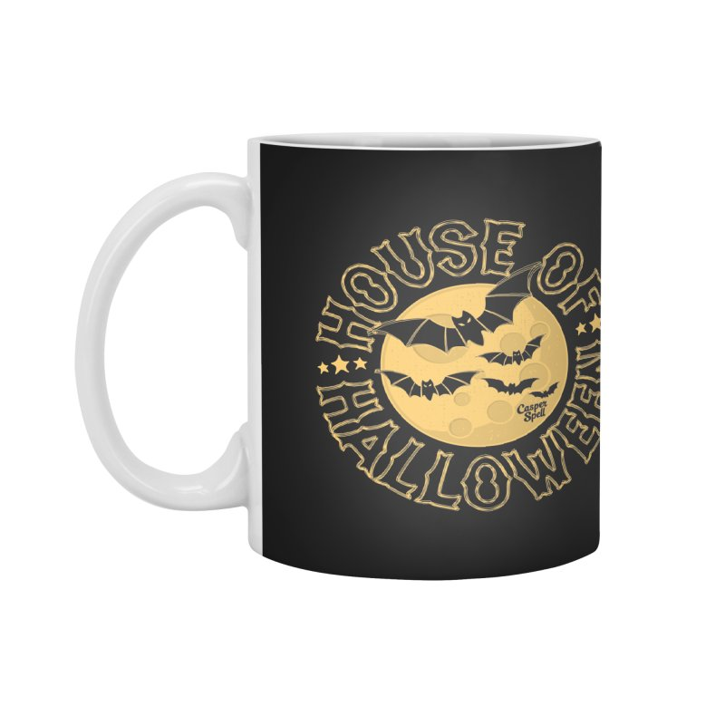 House of Halloween Accessories Mug by Casper Spell's Shop