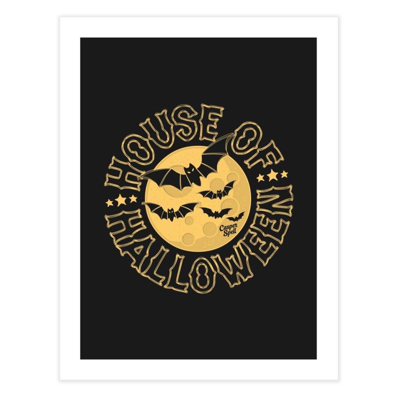 House of Halloween Home Fine Art Print by Casper Spell's Shop