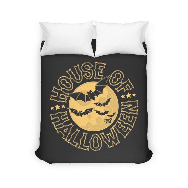 House of Halloween Home Duvet by Casper Spell's Shop