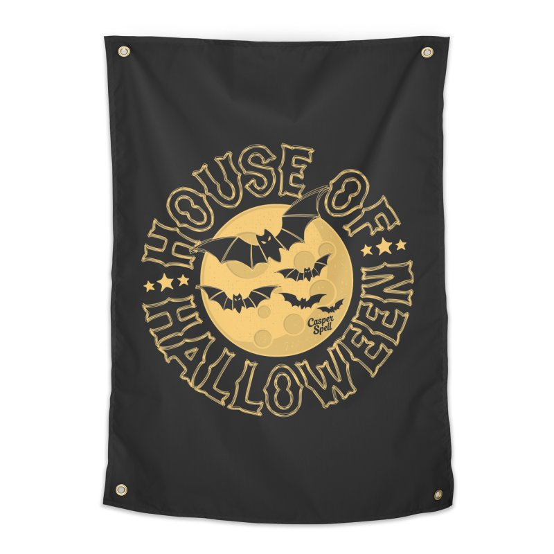 House of Halloween Home Tapestry by Casper Spell's Shop