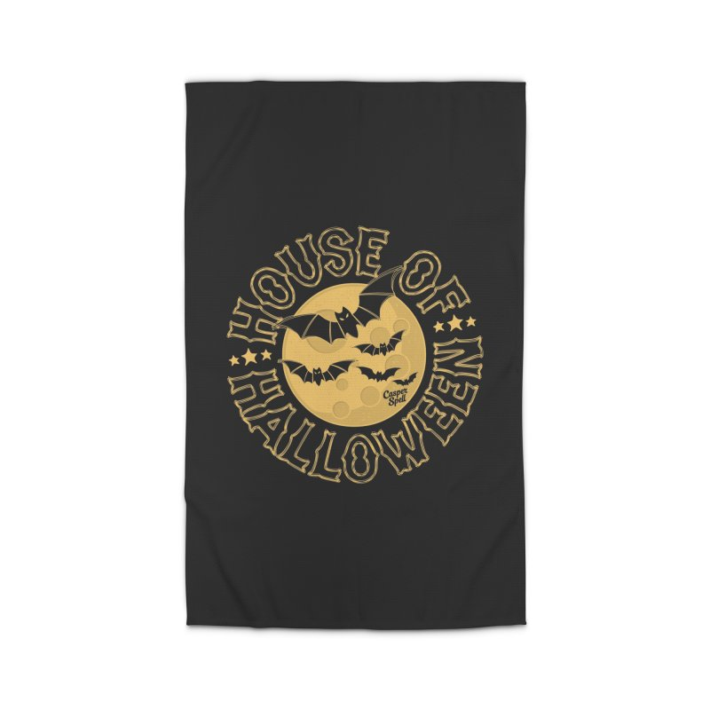 House of Halloween Home Rug by Casper Spell's Shop
