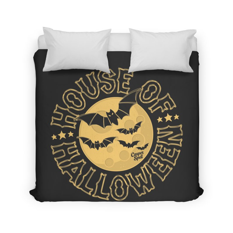House of Halloween Home Duvet by Casper Spell's Shop