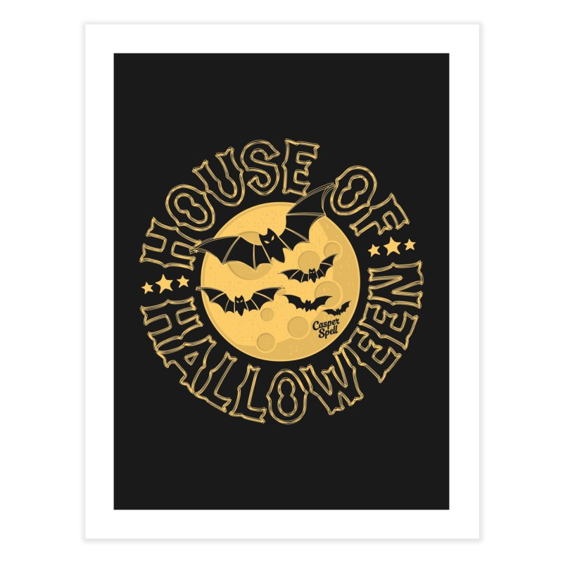 House of Halloween Home Fine Art Print by Casper Spell's Shop