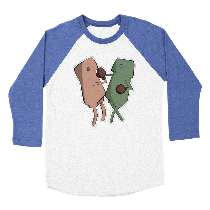 Fighting Vs Women's Baseball Triblend Longsleeve T-Shirt by Castaneda Designs