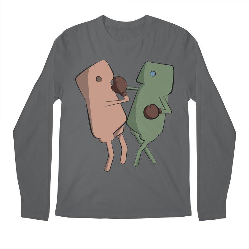 Fighting Vs Men's Longsleeve T-Shirt by Castaneda Designs