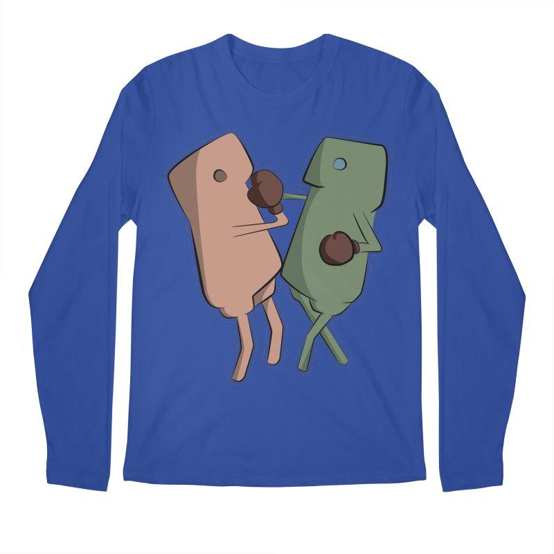 Fighting Vs Men's Regular Longsleeve T-Shirt by Castaneda Designs