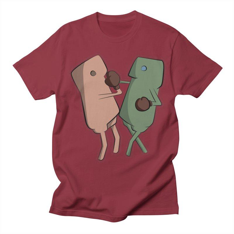 Fighting Vs Men's Regular T-Shirt by Castaneda Designs