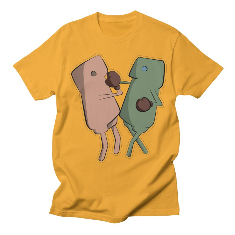 Fighting Vs Men's T-Shirt by Castaneda Designs