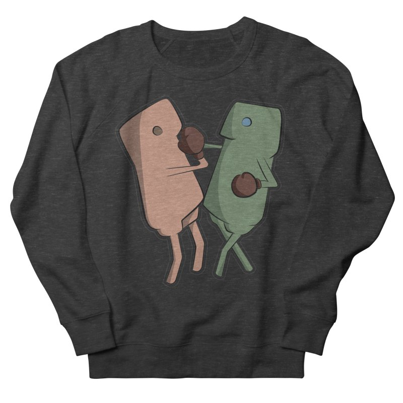 Fighting Vs Women's French Terry Sweatshirt by Castaneda Designs