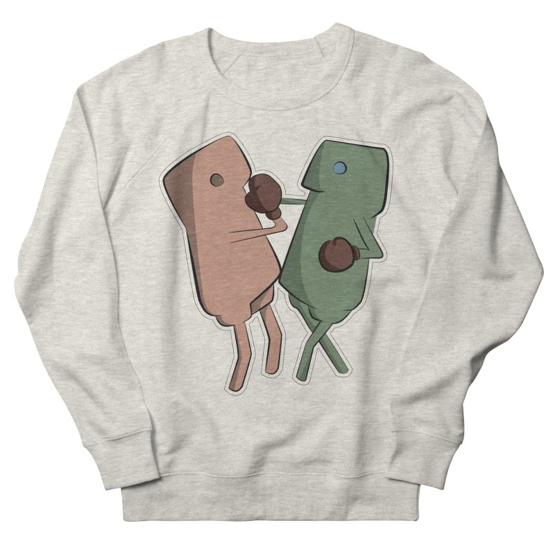 Fighting Vs Men's French Terry Sweatshirt by Castaneda Designs
