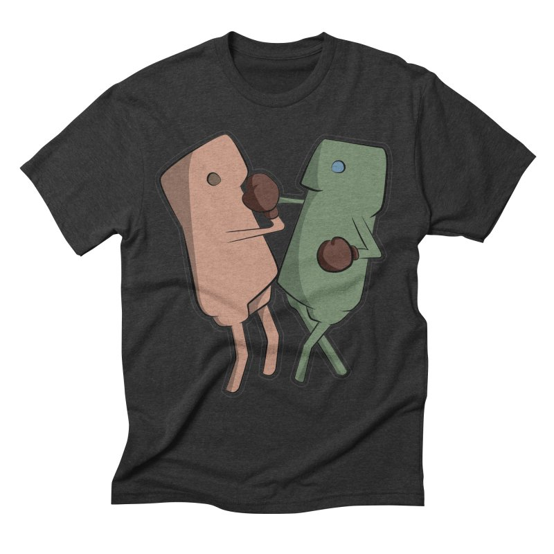 Fighting Vs Men's Triblend T-Shirt by Castaneda Designs