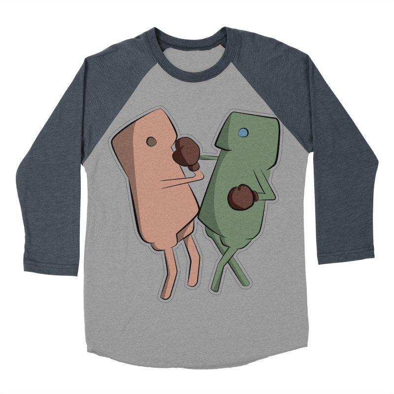 Fighting Vs Men's Baseball Triblend Longsleeve T-Shirt by Castaneda Designs