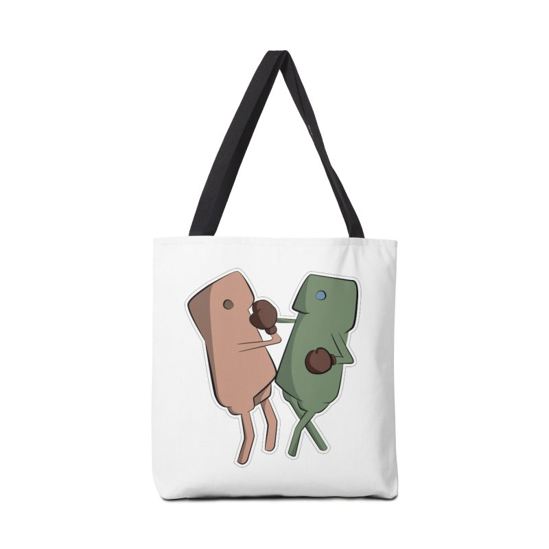 Fighting Vs Accessories Tote Bag Bag by Castaneda Designs