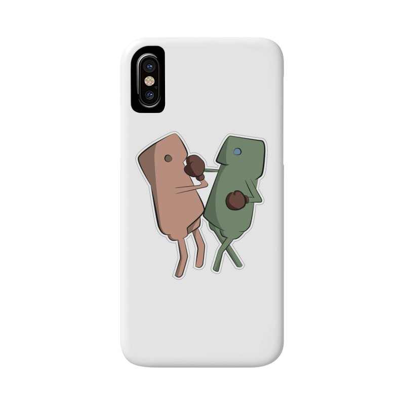 Fighting Vs Accessories Phone Case by Castaneda Designs