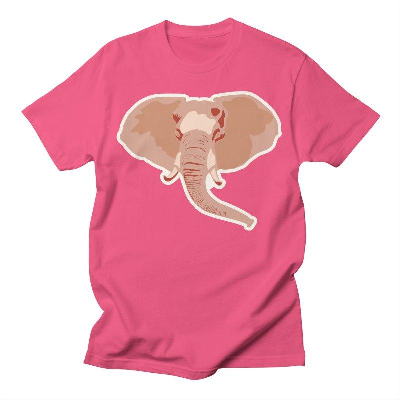 Elephant Men's T-Shirt by Castaneda Designs