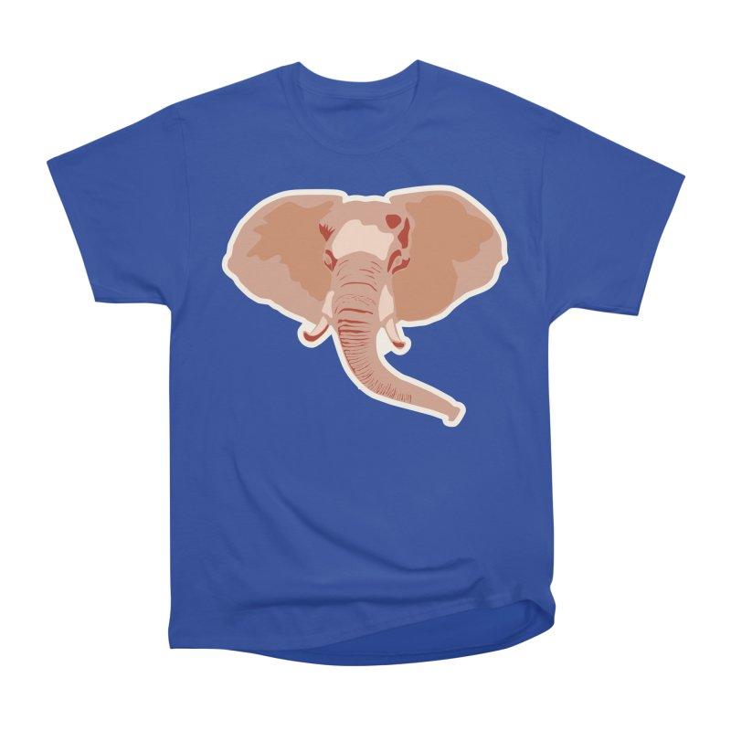 Elephant Men's Heavyweight T-Shirt by Castaneda Designs