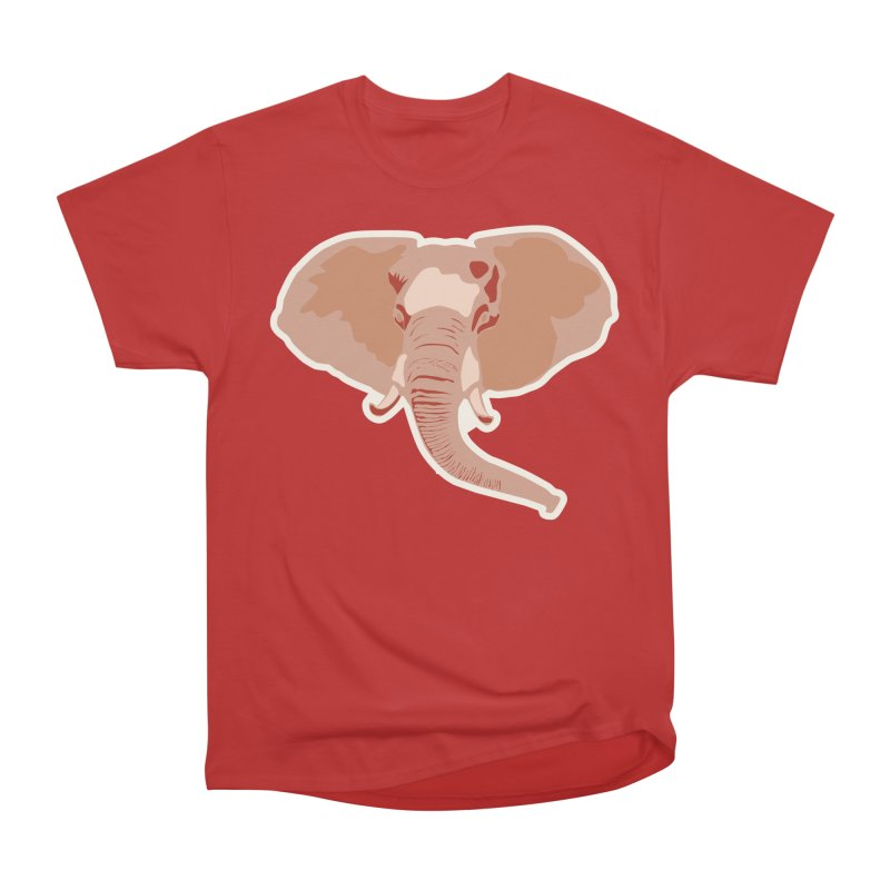 Elephant Women's Heavyweight Unisex T-Shirt by Castaneda Designs