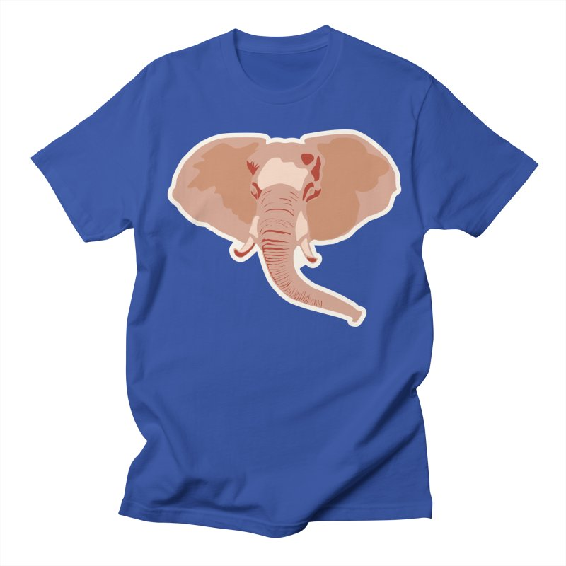 Elephant Women's Regular Unisex T-Shirt by Castaneda Designs