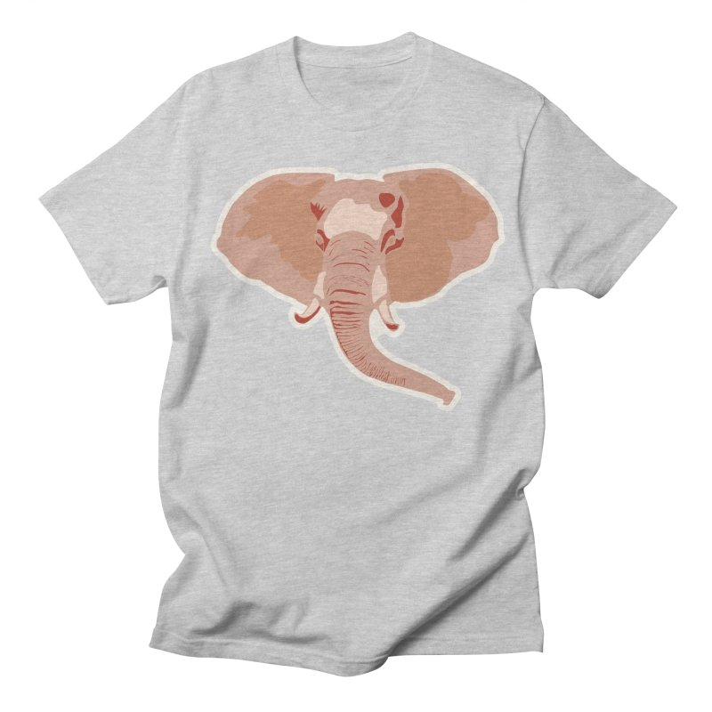 Elephant Men's Regular T-Shirt by Castaneda Designs