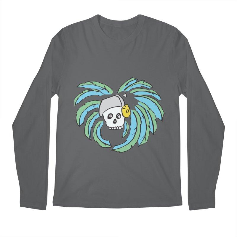 Heart of an Aztec Men's Longsleeve T-Shirt by Castaneda Designs