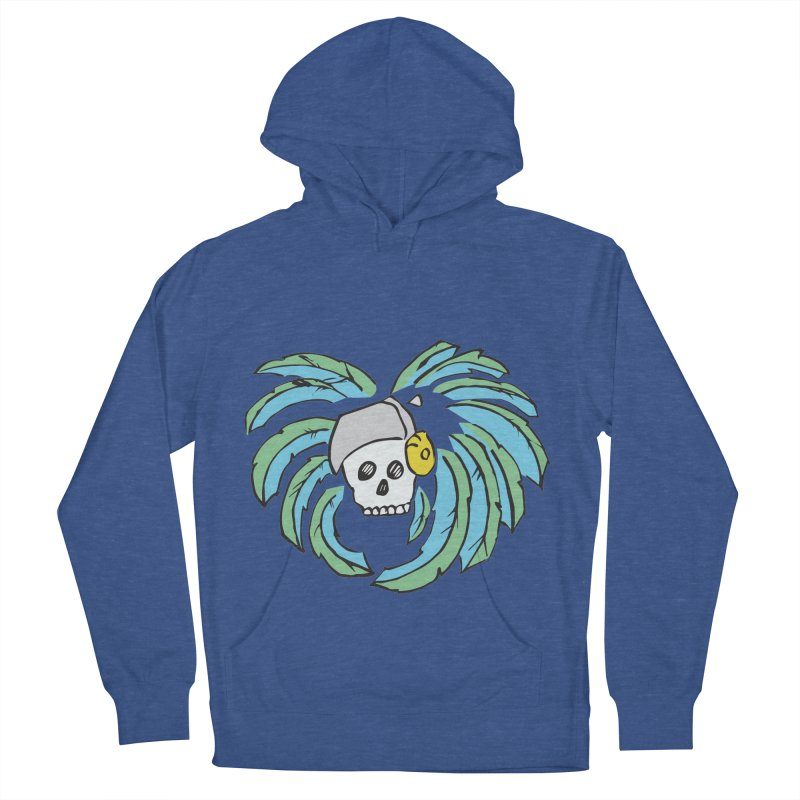 Heart of an Aztec Men's French Terry Pullover Hoody by Castaneda Designs
