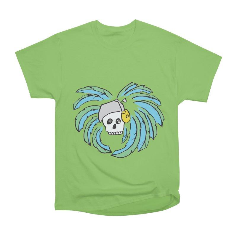 Heart of an Aztec Men's Heavyweight T-Shirt by Castaneda Designs