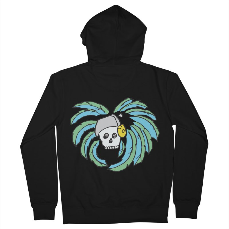Heart of an Aztec Women's French Terry Zip-Up Hoody by Castaneda Designs
