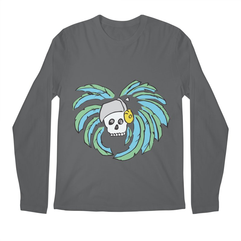 Heart of an Aztec Men's Longsleeve T-Shirt by Castaneda Designs