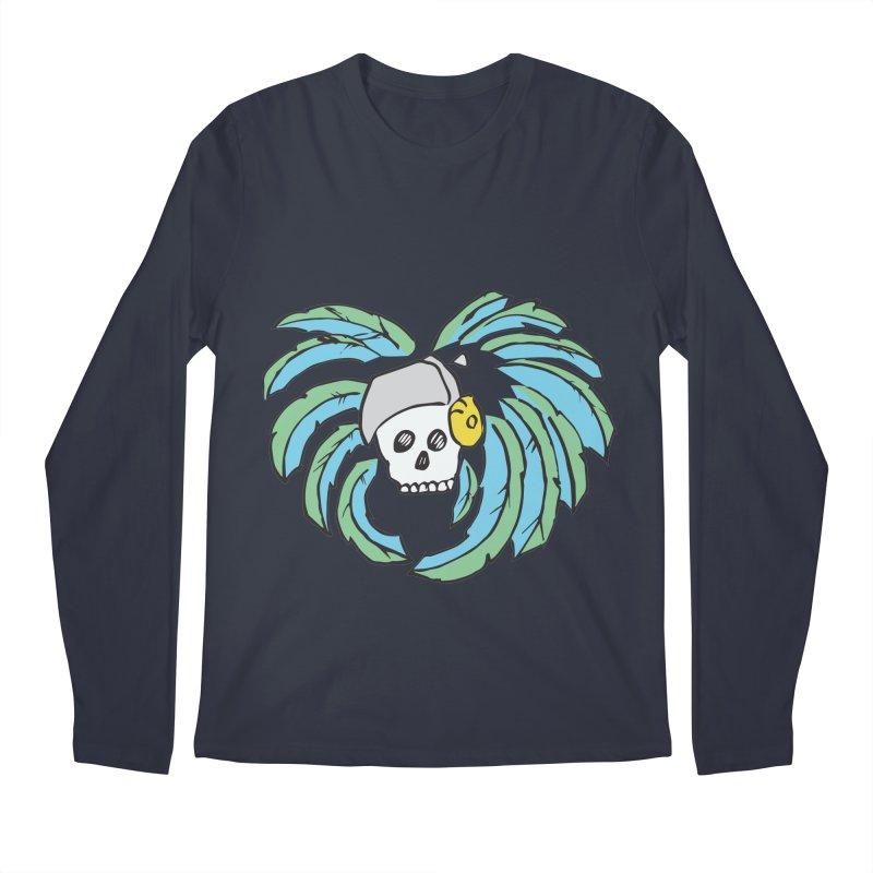 Heart of an Aztec Men's Regular Longsleeve T-Shirt by Castaneda Designs