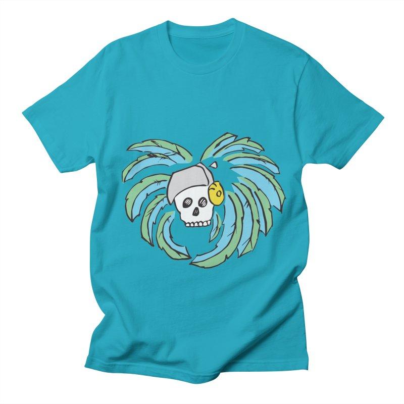 Heart of an Aztec Men's Regular T-Shirt by Castaneda Designs