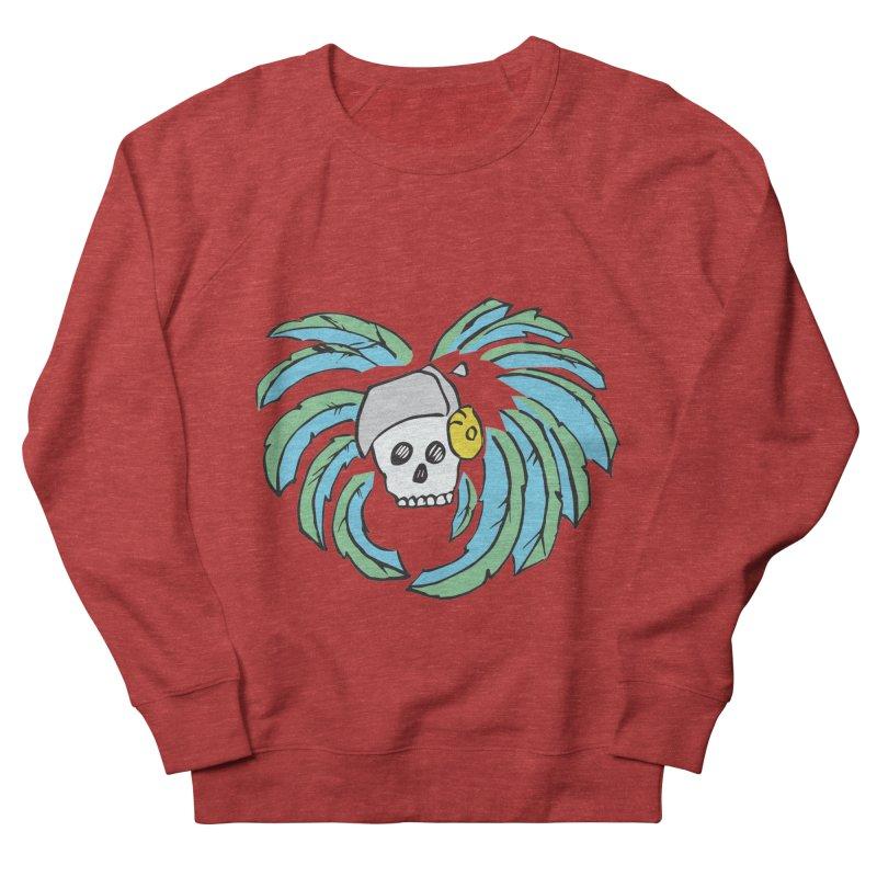 Heart of an Aztec Women's French Terry Sweatshirt by Castaneda Designs