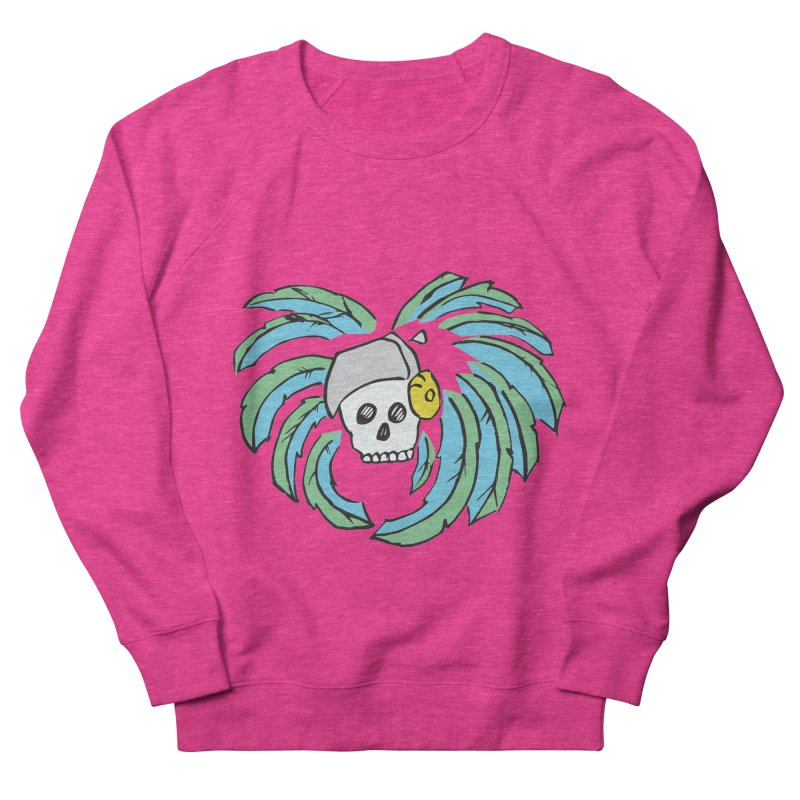 Heart of an Aztec Women's French Terry Sweatshirt by Castaneda Designs