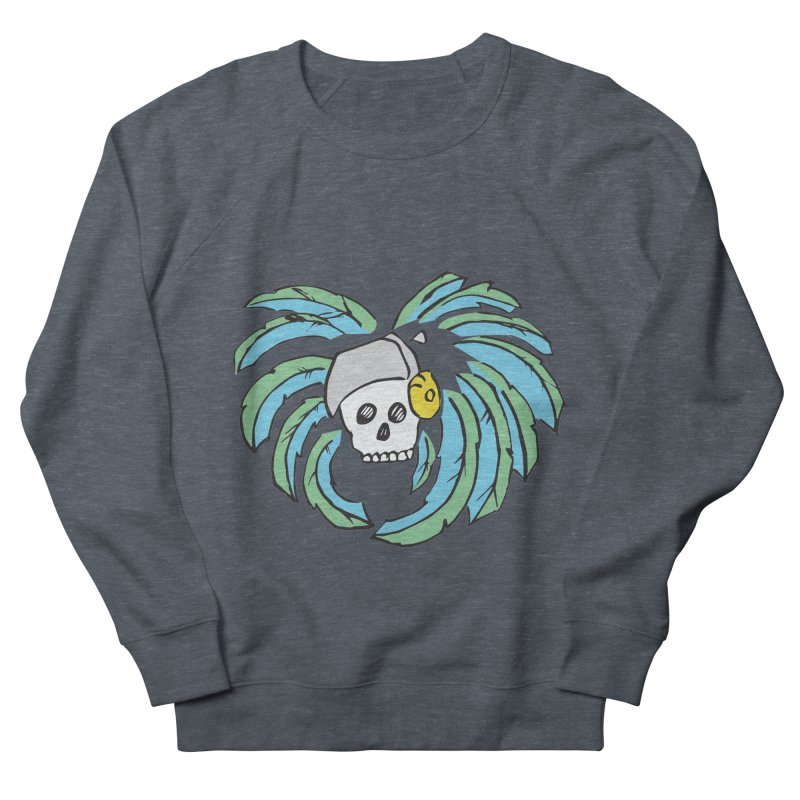 Heart of an Aztec Men's French Terry Sweatshirt by Castaneda Designs
