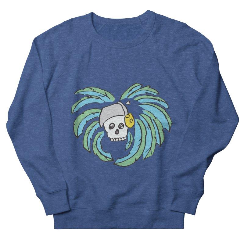Heart of an Aztec Men's French Terry Sweatshirt by Castaneda Designs