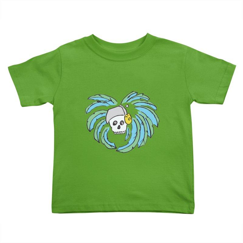 Heart of an Aztec Kids Toddler T-Shirt by Castaneda Designs