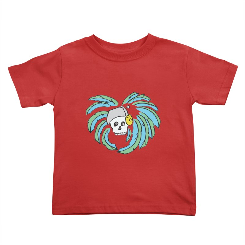 Heart of an Aztec Kids Toddler T-Shirt by Castaneda Designs