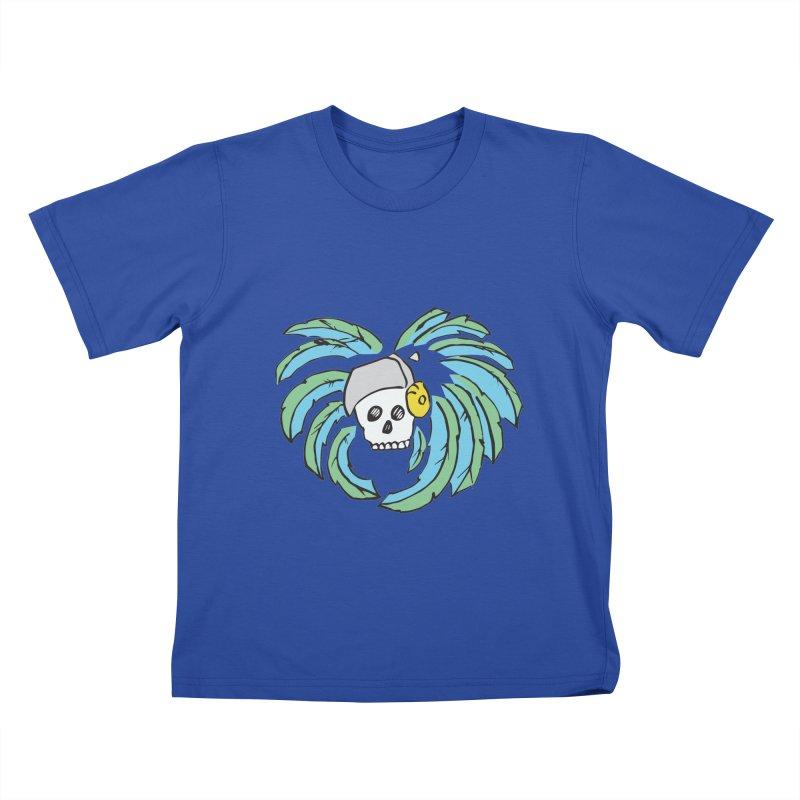 Heart of an Aztec Kids T-Shirt by Castaneda Designs