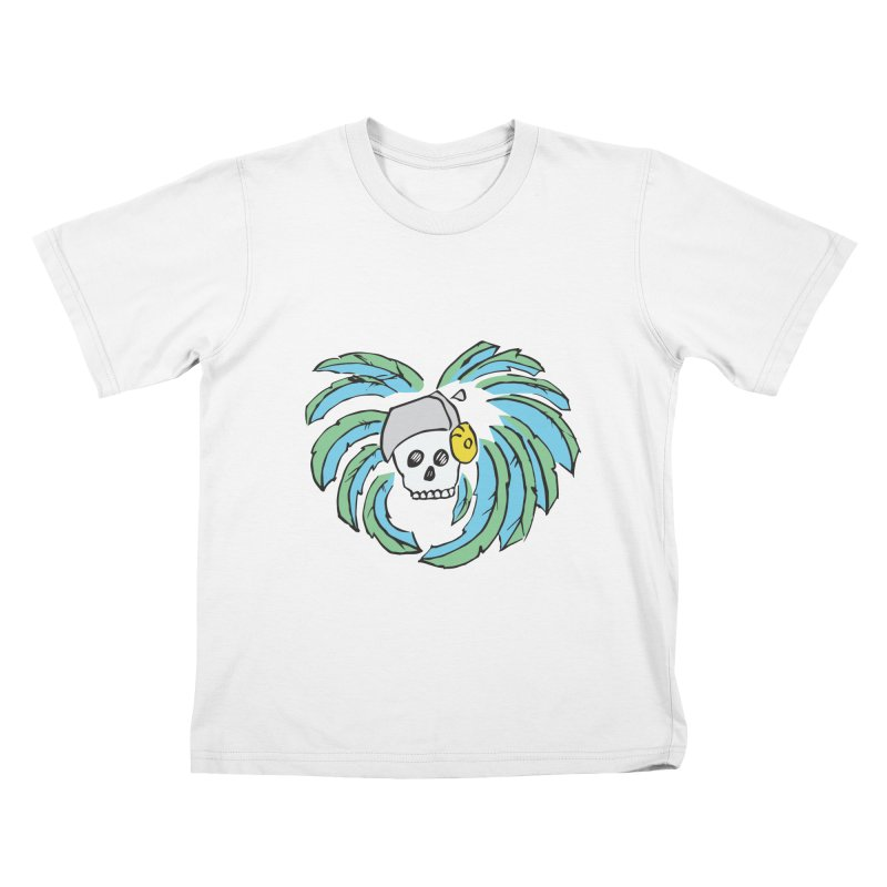 Heart of an Aztec Kids T-Shirt by Castaneda Designs