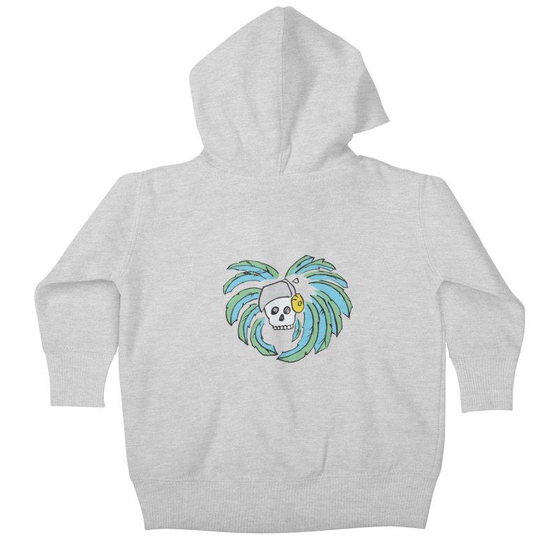 Heart of an Aztec Kids Baby Zip-Up Hoody by Castaneda Designs