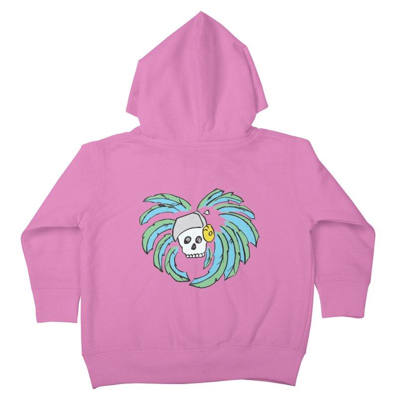 Heart of an Aztec Kids Toddler Zip-Up Hoody by Castaneda Designs