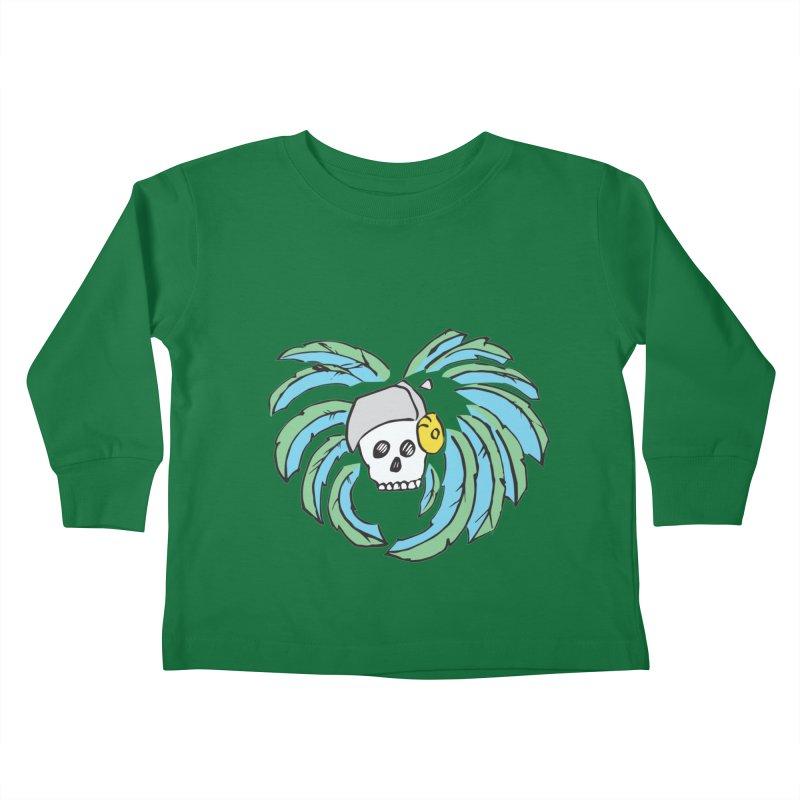 Heart of an Aztec Kids Toddler Longsleeve T-Shirt by Castaneda Designs