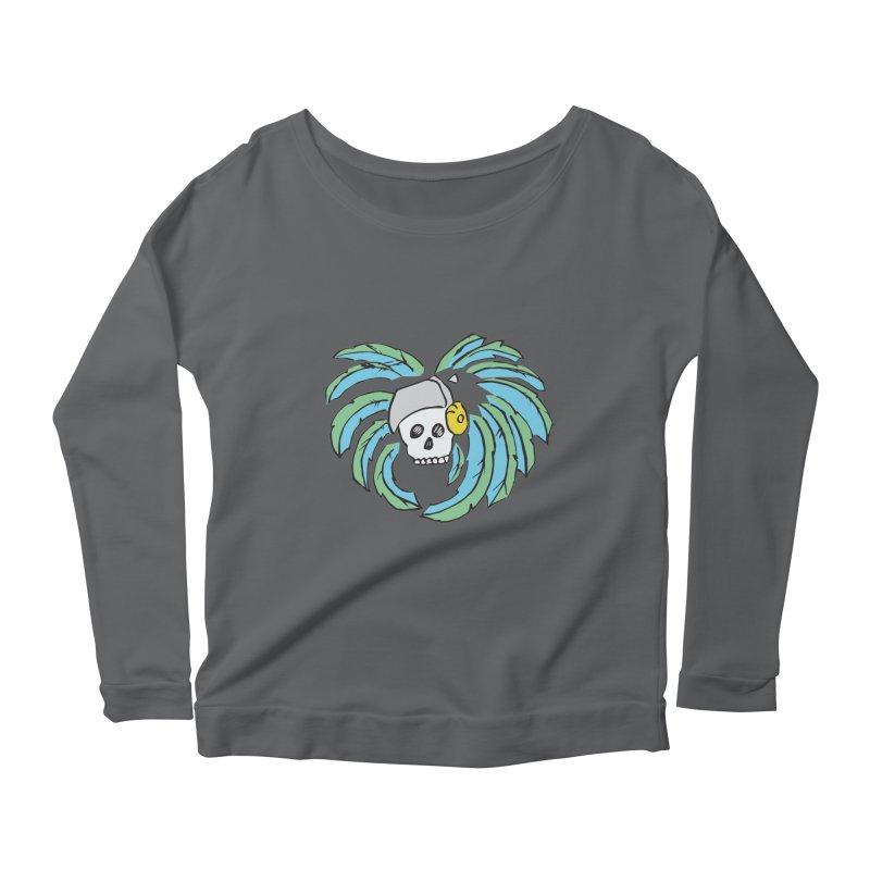 Heart of an Aztec Women's Scoop Neck Longsleeve T-Shirt by Castaneda Designs