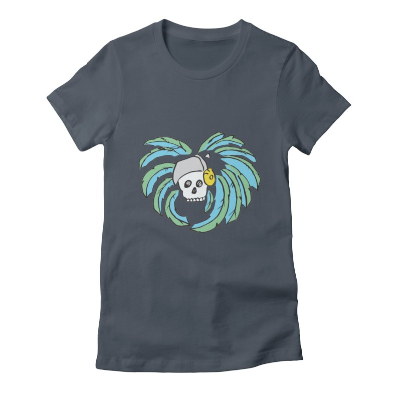 Heart of an Aztec Women's Fitted T-Shirt by Castaneda Designs
